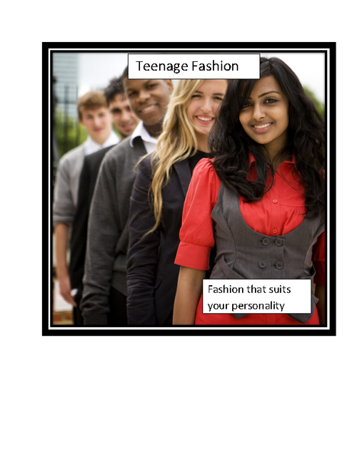 Teenage Fashion