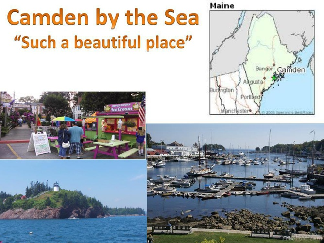 A Magnificent Day in Camden Maine