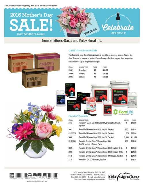 2016 Mother's Day Sale