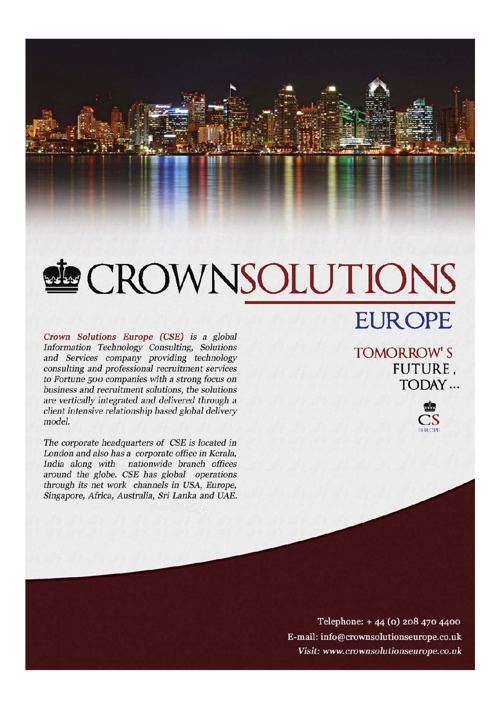 Crown Solution Europe