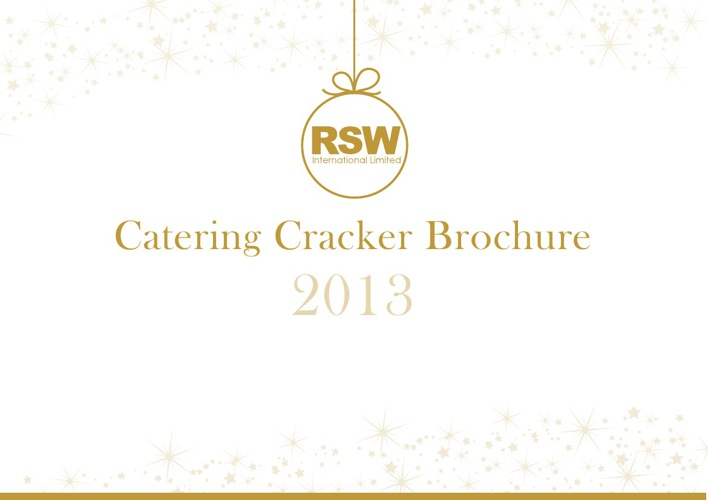 RSW Catering Crackers 2013