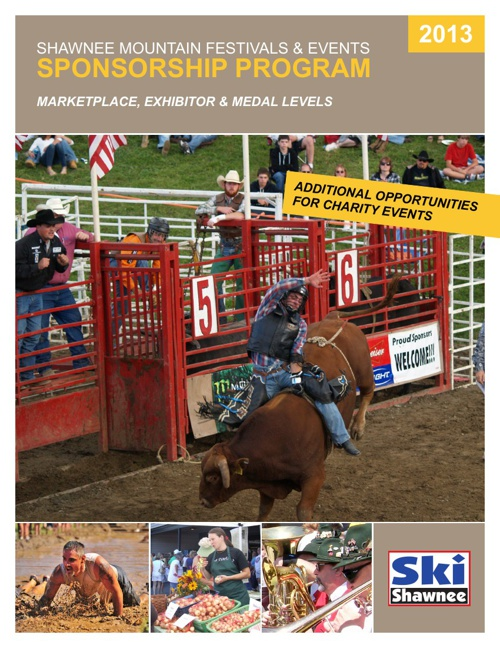 Shawnee Mountain Festival and Event Sponsorship Book