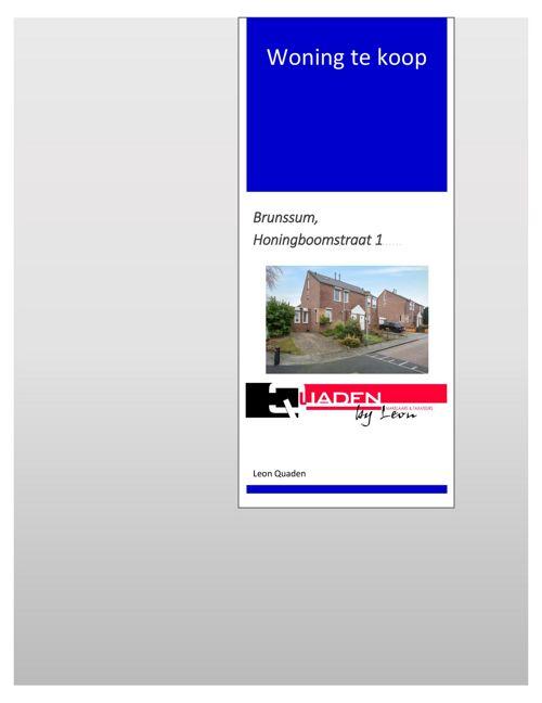 Quaden Makelaars Brunssum Honingboomstraat 1 BOEKJE.rtf