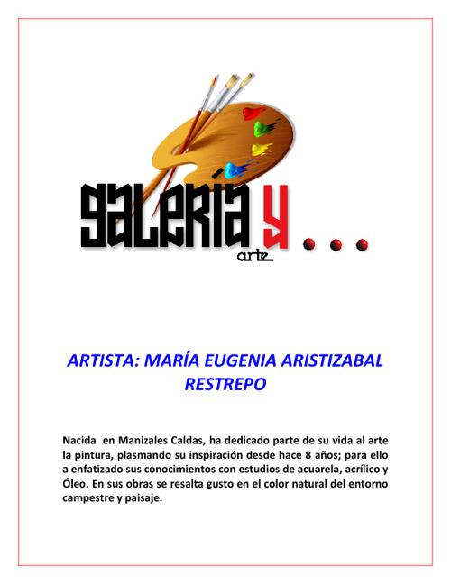 Galeria y Arte María Eugenia Aristizábal Restrepo