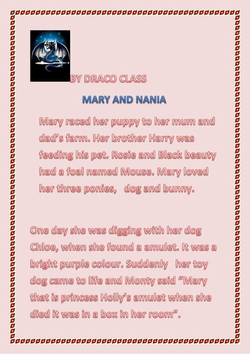 Mary and Narnia
