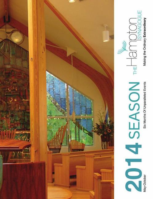 The Hampton Synagogue 2014 Season Brochure