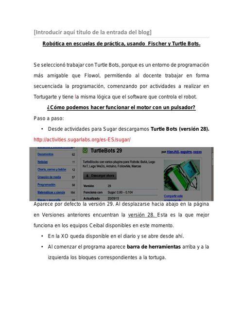 Dinamizadores Durazno: Diego Ramos, Silvia Rosano - Programación