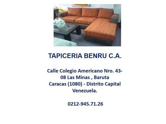 TAPICERIA BENRU C.A.