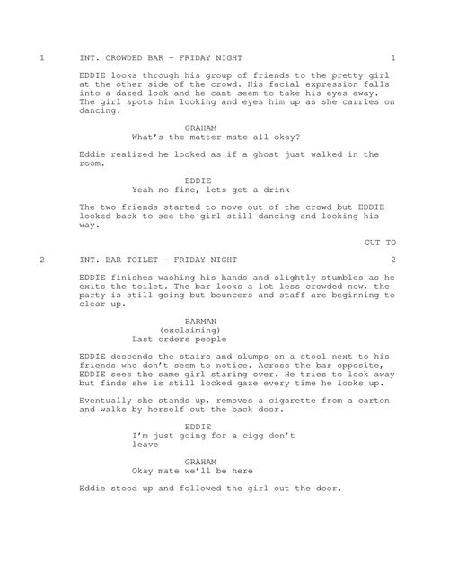 Script Asking Out
