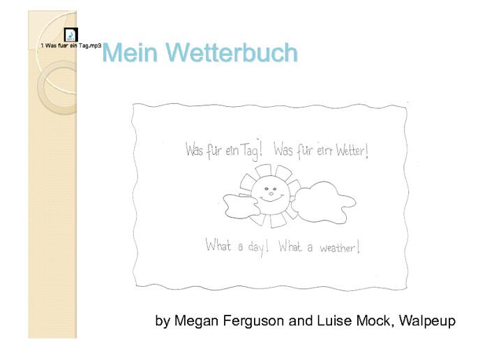 Mein Wetterbuch