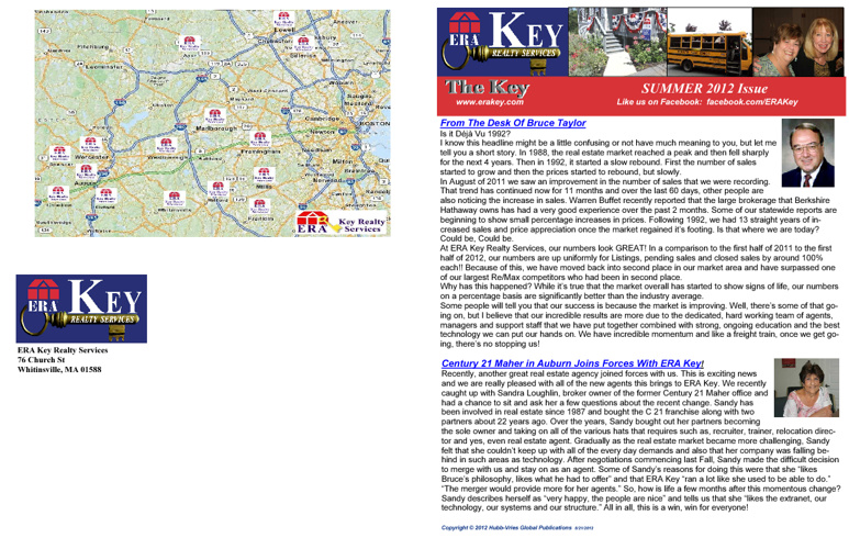 ERA Key Realty Services Summer 2012 Newsletter