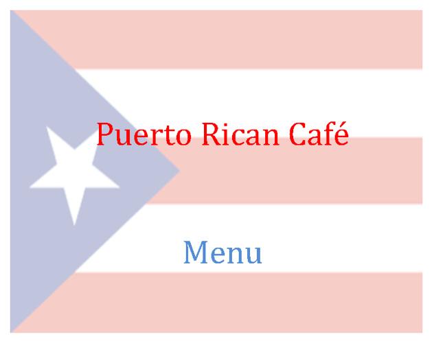 Megan-Puerto Rico-Project