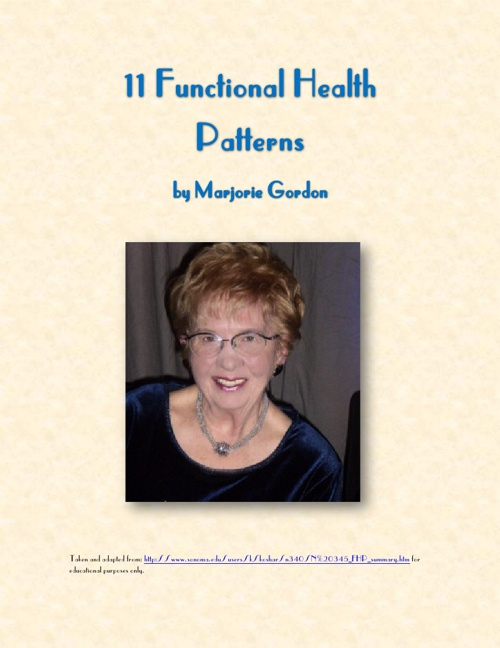 Functional Health Patterns