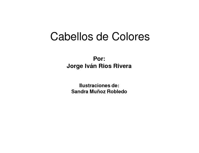 Los Cabellos de Colores