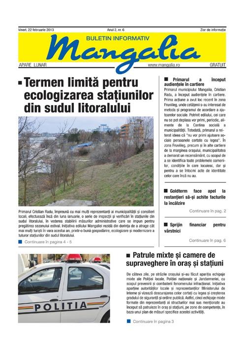 Ziar Mangalia - februarie 2013