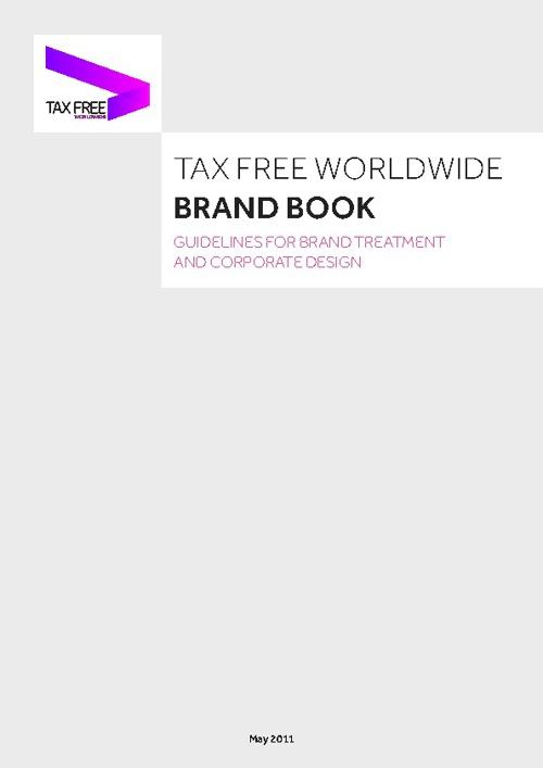 Tax Free Worldwide - Brand Book