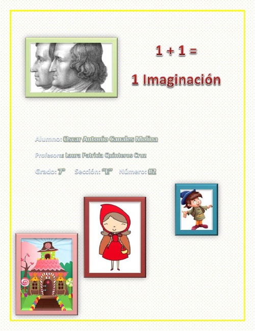 1+1 =1 Imaginación