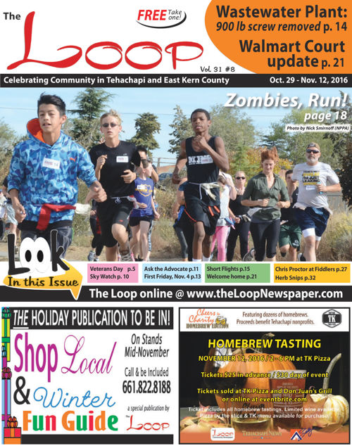 The Loop Newspaper - Vol 31 No 08 - Oct 29 to Nov 12, 2016