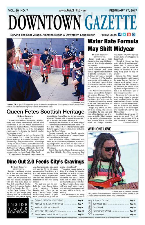 Downtown Gazette  |  February 17, 2017