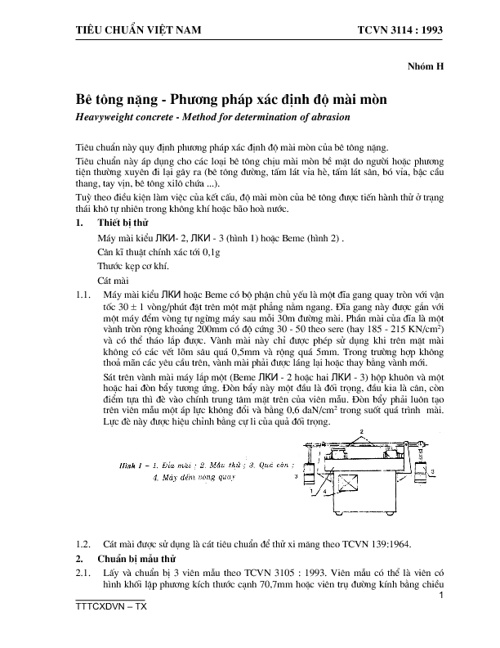 TCVN3114-1993-be tong nang-pp xac dinh do mai mon