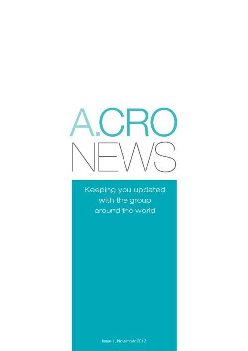 ACRO NEWS SHELF Issue 3 - Mar 2014