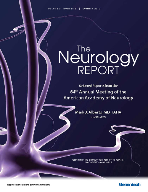 Neurology Report (Stroke Edition)