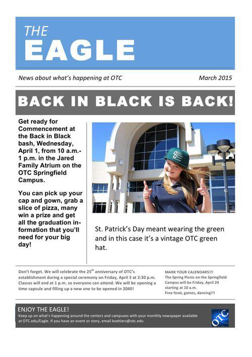 March 2015 OTC Eagle