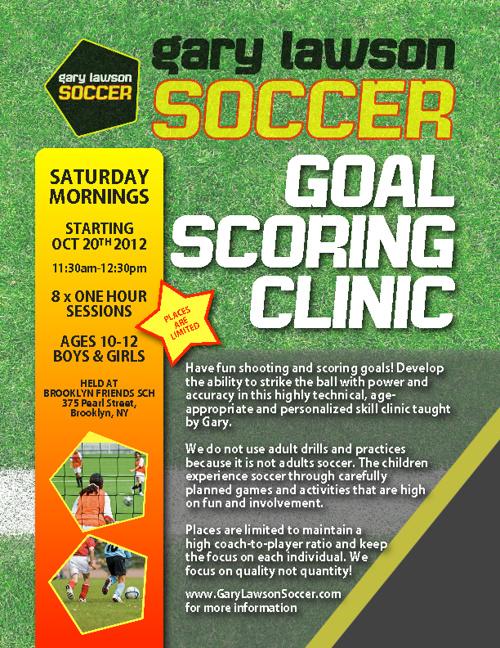 Goal Scoring Clinic
