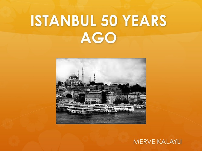 Merve Old Istanbul Interview