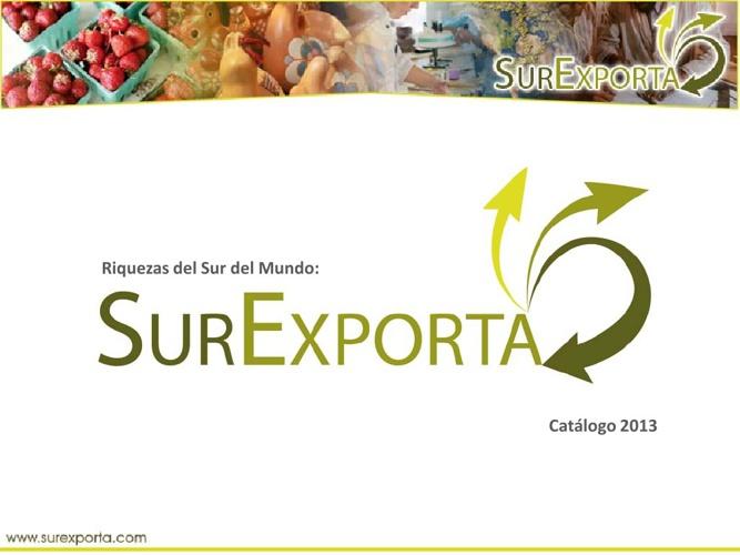 Presentación SurExporta 2013