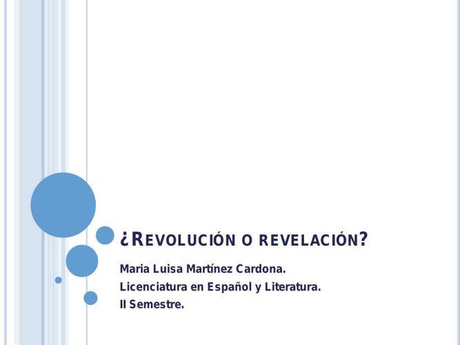 Revolucion o revelacion.pptx