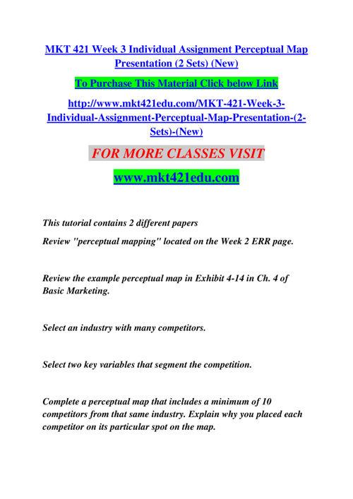 MKT 421 EDU NEW Empowering and Inspiring/mkt421edunew.com