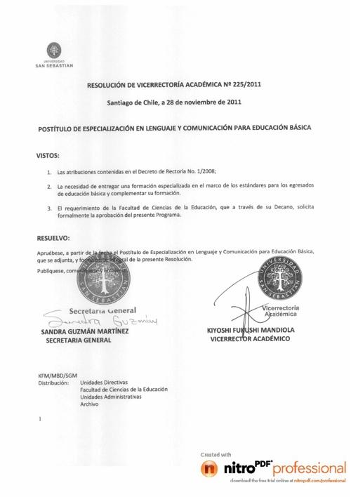 Postítulo de Especialización en Lenguaje y Comunicación