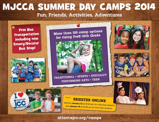 MJCCA Day Camps Catalog 2014
