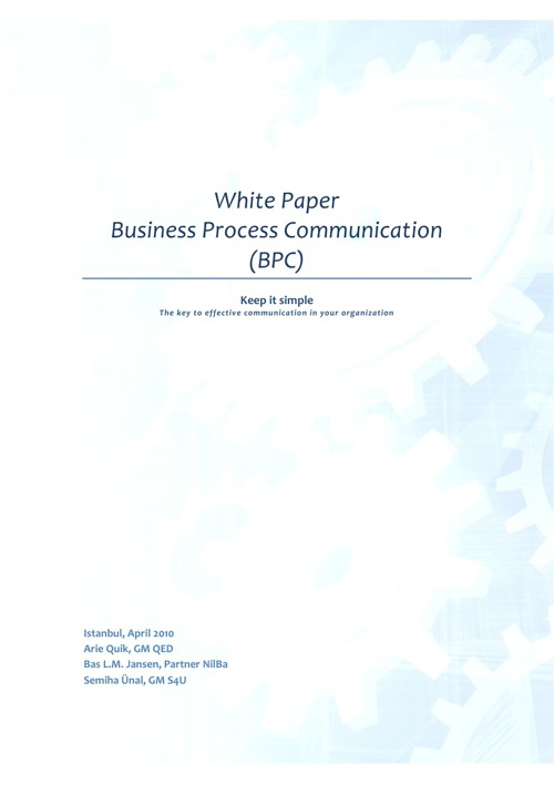 BPC Business Process Communication