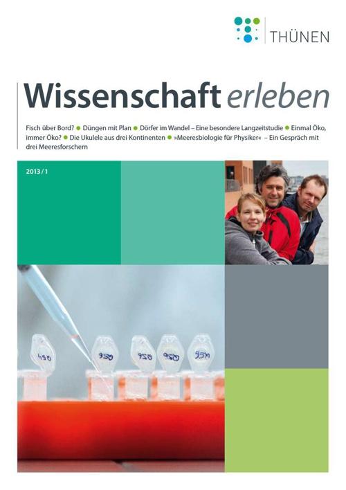 Wissenschaft erleben 1/2013