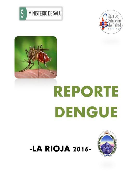 REPORTE DE  DENGE A SE 49 - LA RIOJA