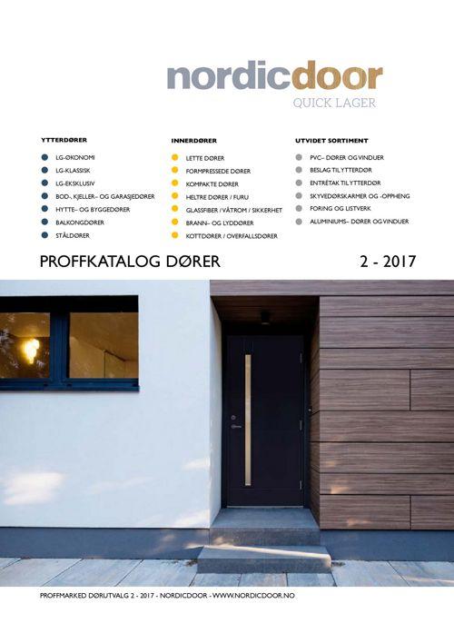 NordicDoor QuickLager - Prisliste
