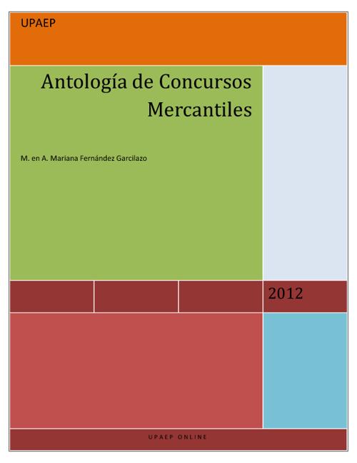 Antología Concursos Mercantiles