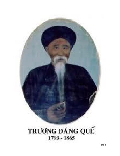 Thái sư Trương Đăng Quế