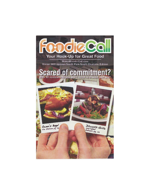 Foodie Call Restaurant Guide Winter 2011