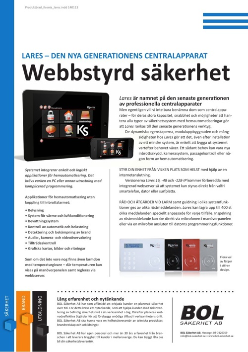 Webbstyrd säkerhet