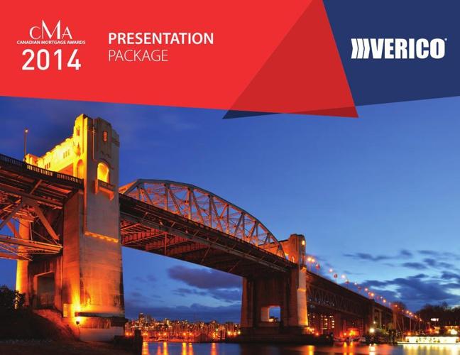 VERICO CMA 2014 Presentation Package