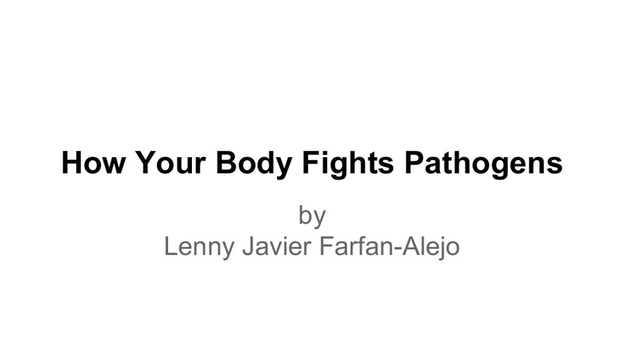 How Your Body Fights Pathogens