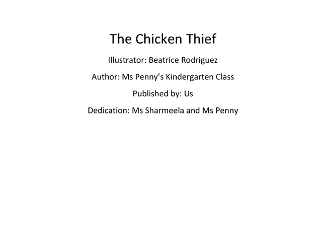 The Chicken Thief