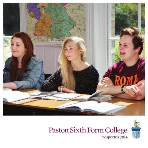 Paston Prospectus 2014