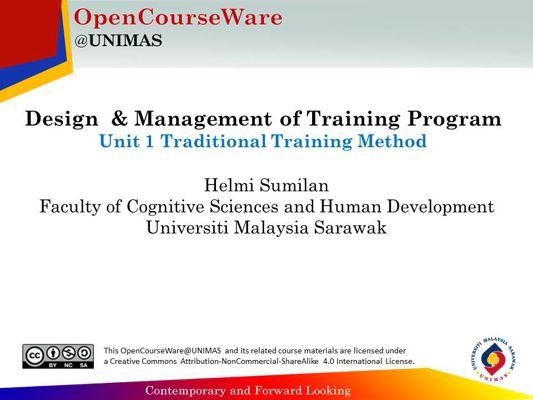 Hands On Training Method