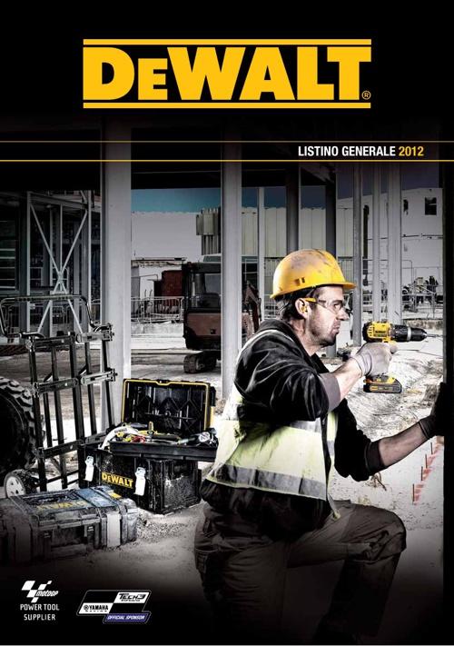 Listino DeWalt 2012/2013