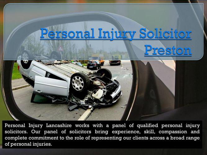 Personal Injury Solicitor Preston