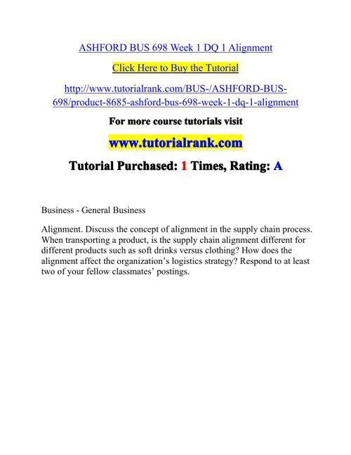 BUS 698 Potential Instructors / tutorialrank.com